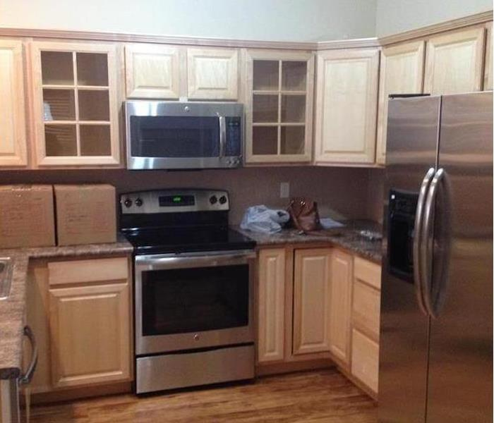 Fire Damage – Chicago Kitchen After