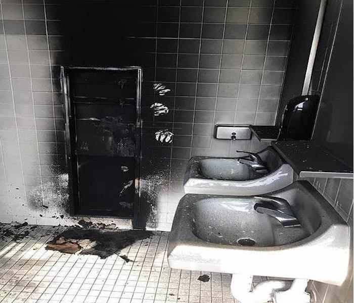 Commercial Fire Damage – Chicago Before