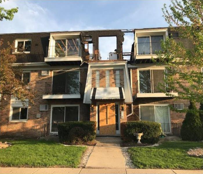Fire Damage Restoration In The Chicago Ridge Area Before