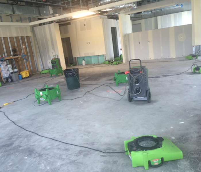 Commercial Water Removal – Downtown Chicago After