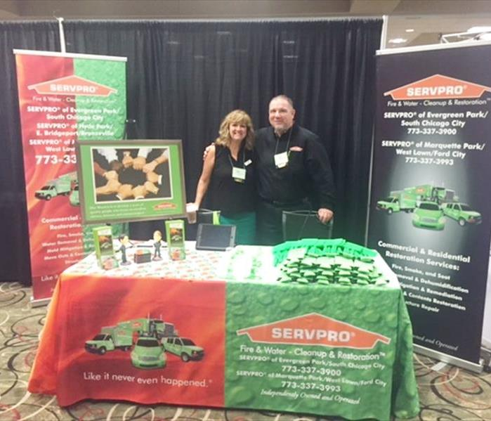 SERVPRO Exchanges Ideas and Info with the ACTHA