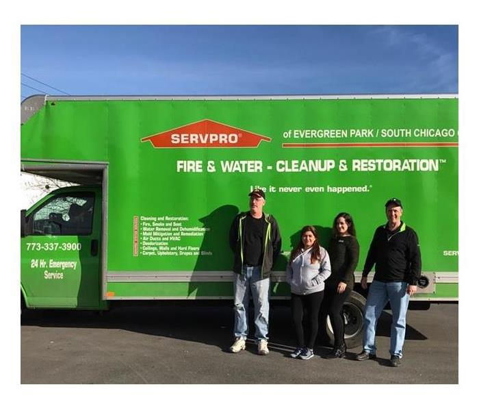 Our commercial SERVPRO team attends training