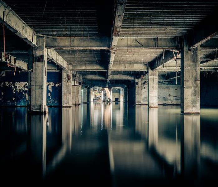 Commercial Commerical Water Damage in Chicago Due to Sewage Leaks